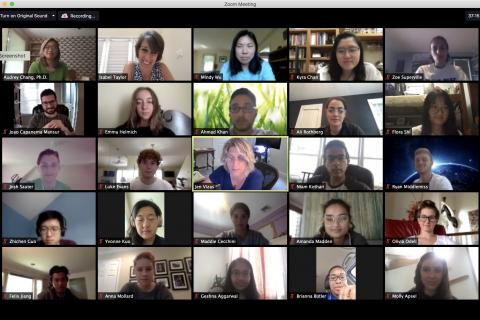 Code+ 2020 Zoom meeting