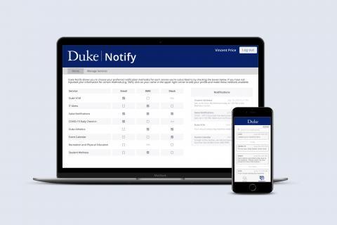 Duke Notify