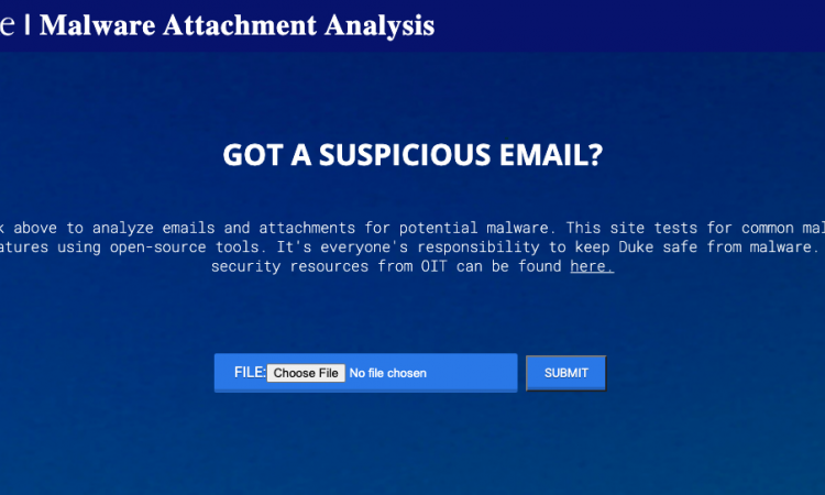 Malware Attachment Analysis